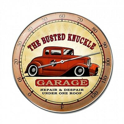 Busted Knuckle Garage Thermometer - Hand Made in the USA with American Steel