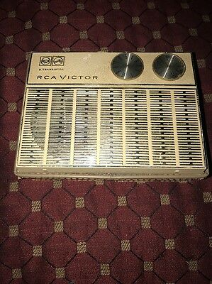 RCA Victor 8 Transistor AM Radio, Untested