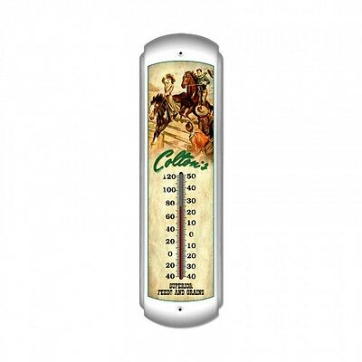 Colton's Feeds and Grains Thermometer - Hand Made in the USA with American Steel