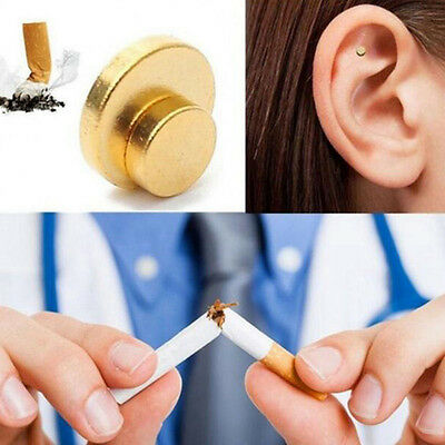 Magnet Cigarettes Quit Smoke Ear Magnetic Weight Loss Acupressure Anti-Smoking