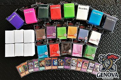 Yu-Gi-Oh! 100 Random Cards Lot guaranteed Foil Card Deck Box + Sleeves Included!