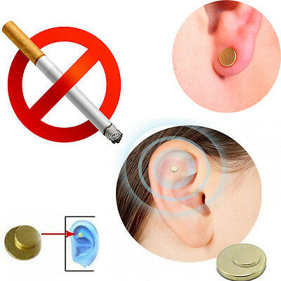 Quick Quit Stop Smoking  No Smoke Ear Magnet Cigarettes Magnetic Ear Acupressure