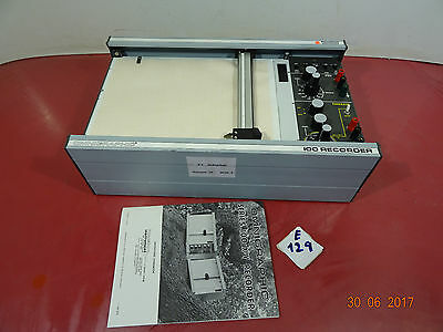 Houston Instruments Omnigraphic 2000 Graph X-Y Model E160 (E129