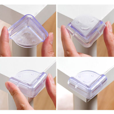 5Pcs Child Baby Safe silicone Protector Table Corner Edge Protection Cover