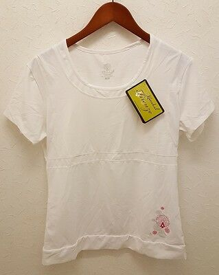 Karakal Womens Firenze Tee White Sizes M-XL