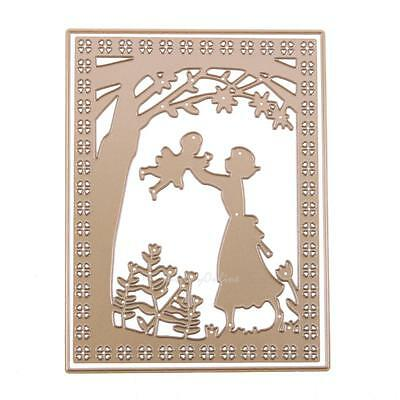 Mother Baby Metal Cutting Dies DIY Stencil Scrapbook Embossing Paper Card Craft