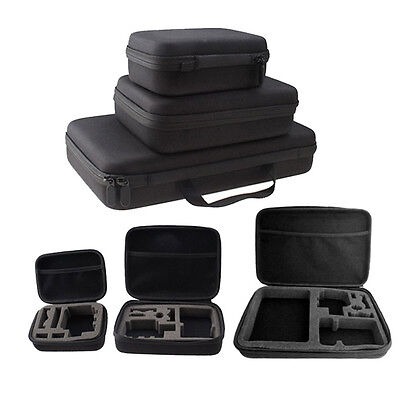 For GoPro Hero1 2 3 3 4 SJ4000 Action Cam Camera New Small Travel Carry Case Bag