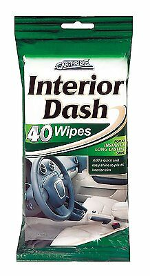 Interior Clean & Shine Wipes - 40 Wipes