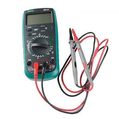 1 Pair Universal Digital Multimeter Test Lead Probes Wire Pen Cable 1000V 10A