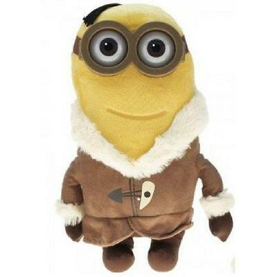 MINION PLUSH TOY Minion Movie Ice Village Kevin 30cm with plastic 3D eyes