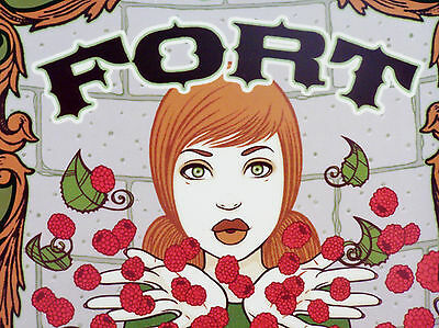 Beautiful Brand New Very Rare Dogfish Head Fort Poster/ Print By Tara Mcpherson!