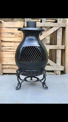 Antique Pot Belly Cast Iron Wood Heater from the 1890's