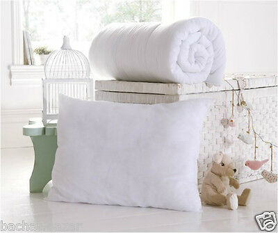 Cot Bed Duvet Quilt & Pillow Set Anti Allergy Nursery Baby Toddler Junior Duvet