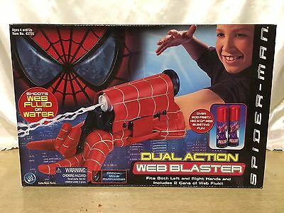 NEW Marvel Spider-Man Dual Action Web Blaster