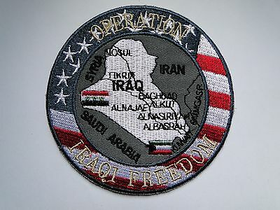 Aufnäher/Patch   Operation  IRAQI Freedom  ca 10 cm