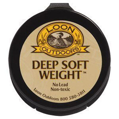 DEEP SOFT WEIGHT tungsten putty weight Loon Outdoors Fly Fishing