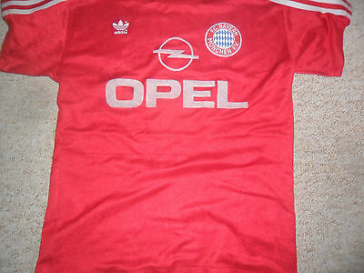 Bayern Munich 1989/91 home Football shirt size S #6