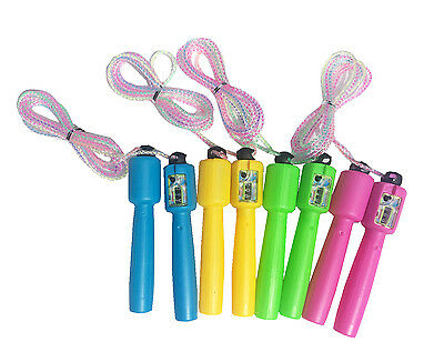 Children Skipping Rope With Counter Adjustable Fitness Jump Exercise Gym Gifts