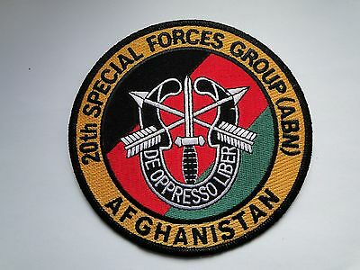 Aufnäher 20th Special Forces Group Afghanistan  ca 13  cm