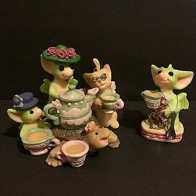Pocket Dragon Tea And Gossip And Time For Tea  2001 2002 Musgrave