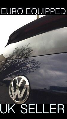 Rear Wiper Delete Bung Dewiper Blank Glass Effect Vw Golf Mk4 Mk5 Mk6 Mk7 Polo