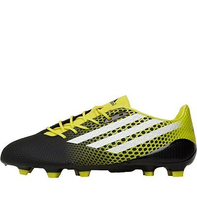 adidas Mens Crazyquick Malice Promo FG Rugby Boots  Black/White/Bright Yellow