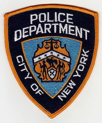 City Of New York Ny Police Patch Never Used Clean Free Shipping