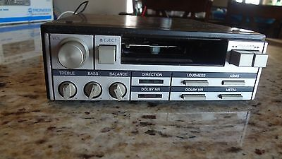 Rare Used Vintage Realistic Under Dash Car Stereo Cassette Tape Deck! 12-1983