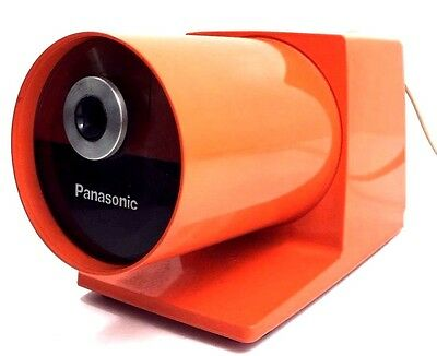 Vintage Pencil Sharpener Panasonic Pana Point 1960 KP 22A Orange VTG MOD