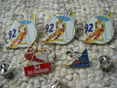 Skiing Sky Lot Of 5  Hat Pins
