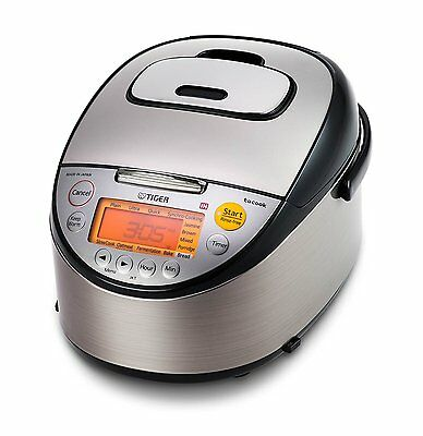 Tiger 5.5 Cup Ih Induction Heating Rice Cooker  (Made In Japan)  Jkt-S10A