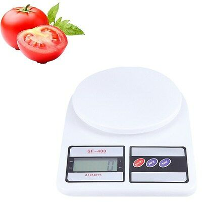 1Pcs Digital LCD Electronic Scale Measure Tools 10kg/1g Food Weighing