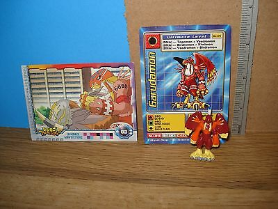 Digimon figure Garudamon with cards -Combined shipping is free