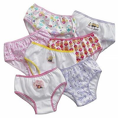 Despicable Me Little Toddler Minions 7 Pack Underwear Panties (4T)