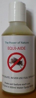 Equi Aide Fly Buster Natural Protection/Repellent Horse Spray (makes 5 Litres)