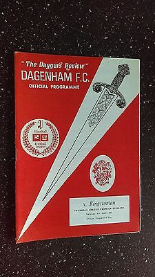 Dagenham V Kingstonian 1990-91