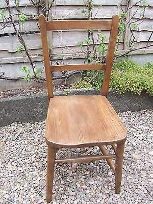 vintage church chair