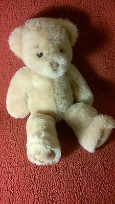 "15"" Vintage 1985 Gund TAN BUNKY BEAR floppy plush stuffed animal toy"