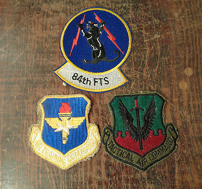 Lot of 3 Vintage Military Patches
