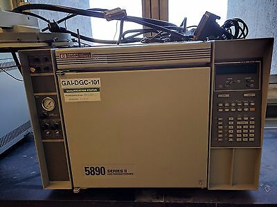 Two HP 5890 series II gas chromatographs with Agilent autosampler and controller