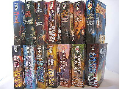 The Wheel of Time #1-14: Book Series by Robert Jordan (Complete Set) MM PB