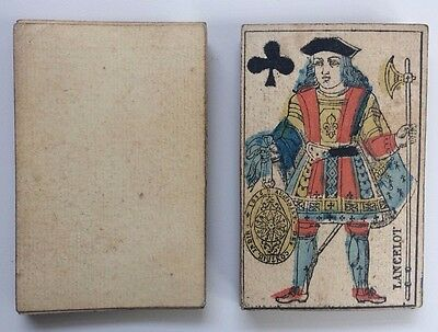 c.1816 Playing Cards 19th Century Gatteaux Paris Pattern 32/32 Painted Stencils