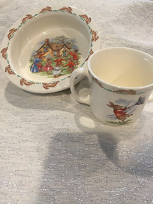 Royal Doulton Tableware Bunnykins Collection