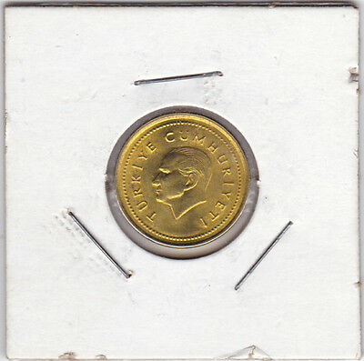 1996 5000 Lira Coin Turkey km1029.1 See Scans and Grade For Yourself