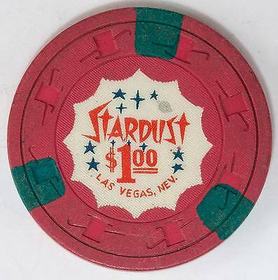 1960 Stardust $1 4th Edition Casino Chip Las Vegas, NV