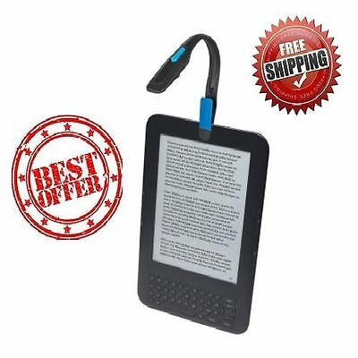 Energizer Portable Clip LED Book Light For Kindle E-Reader 11 lumen Book Reading