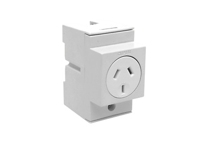 CLIPSAL 4PSO10 Automatic Switched Socket Single Pole 10A 250V