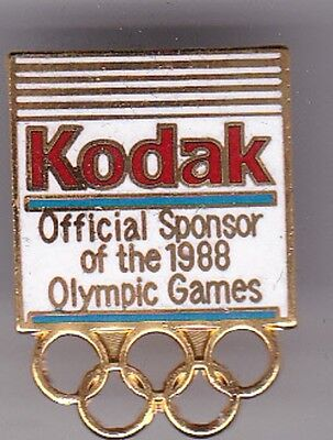 1988 Olympic Pin--KODAK--Official Sponsor--FREE SHIPPING
