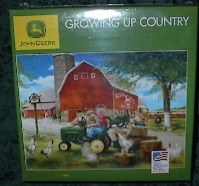 Great American Puzzle Factory John Deere - Growing Up Country 1000 Piece Jigsaw