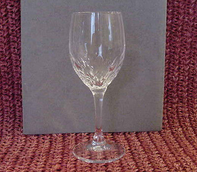 Set of 4 CRISTAL d'ARQUES Durand crystal JUAN pattern CORDIAL GLASSES  5 1/8""